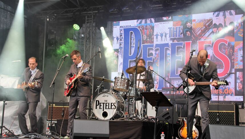 The Peteles bei Vivat Viadukt 2017